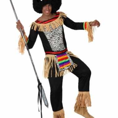 Afrikaans carnavalspak heren