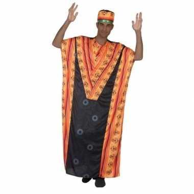Afrikaanse kaftan verkleed carnavalspak voor heren