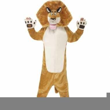 Alex de leeuw carnavalspak voor kinderen