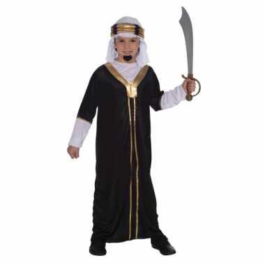 Arabieren carnavalspak inclusief hoofddoek voor kinderen