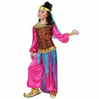 Arabische buikdanseres suheda verkleed carnavalspak voor meisjes