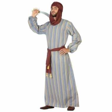 Arabische strijder ali verkleed carnavalspak/gewaad voor heren