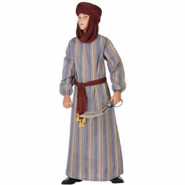 Arabische strijder ali verkleed carnavalspak/gewaad voor jongens