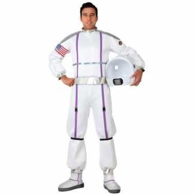 Astronauten verkleed pak/carnavalspak voor heren