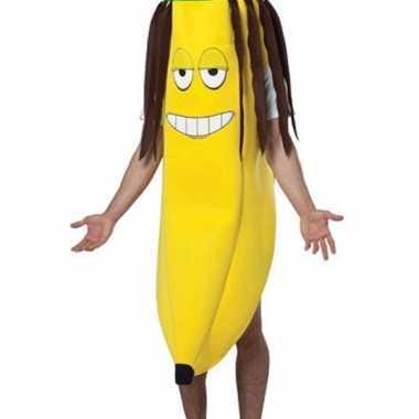 Banaan carnavalspak rasta