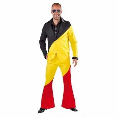 Belgie carnavals carnavalspak voor volwassenen