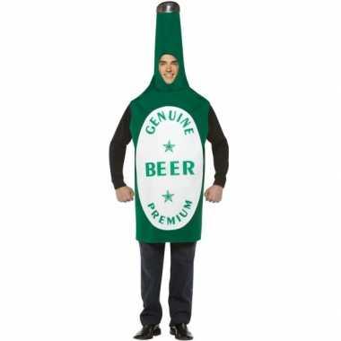 Bierfles verkleed carnavalspak