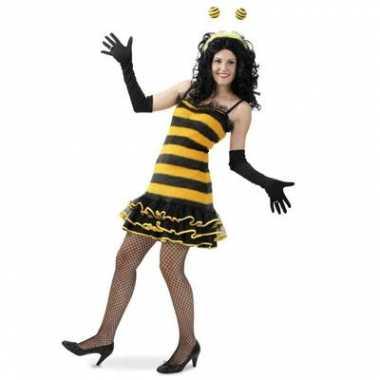 Bijen carnavalspak dames