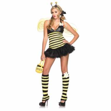 Bijen carnavalspak voor dames