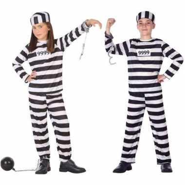 Boef/boeven verkleed pak/carnavalspak voor kinderen