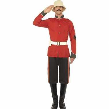 Boerenoorlog soldaat carnavalspak voor heren