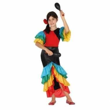 Braziliaanse samba/rumba danseres verkleed carnavalspakvoor meisjes
