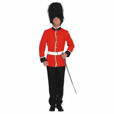 Britse soldaat carnavals carnavalspak