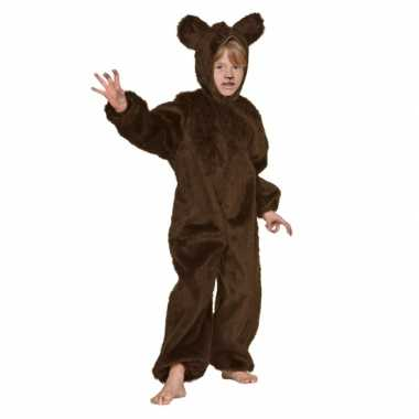 Bruin beren carnavalspak voor kinderen