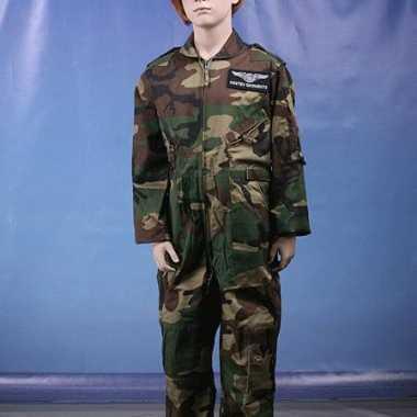 Camouflage kinder carnavalspakl