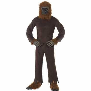 Canrvals carnavalspak bruine aap
