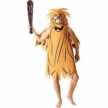 Captain caveman verkleed carnavalspak