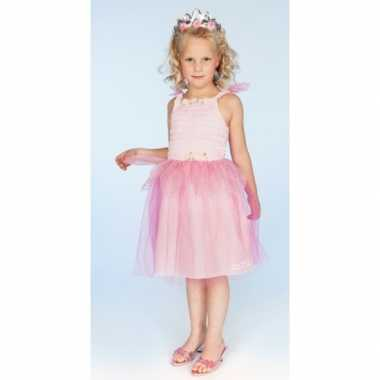 Carnaval carnavalspak prinses roze meisjes