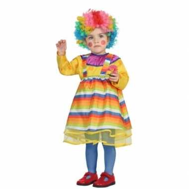 Carnaval clowns carnavalspak peuters