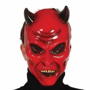 Carnaval duivel masker voor volwassenen