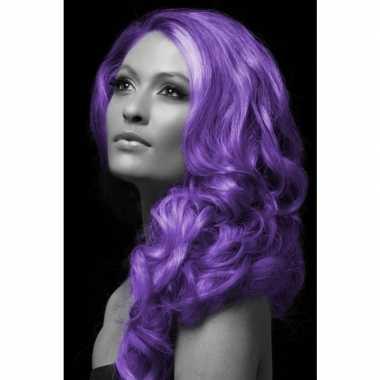 Carnaval haarverf paars