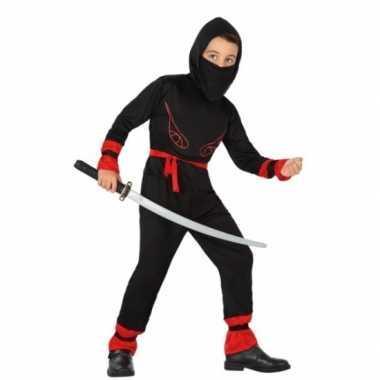Carnaval ninja carnavalspak jongens