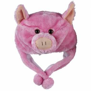 Carnaval varkens muts kids