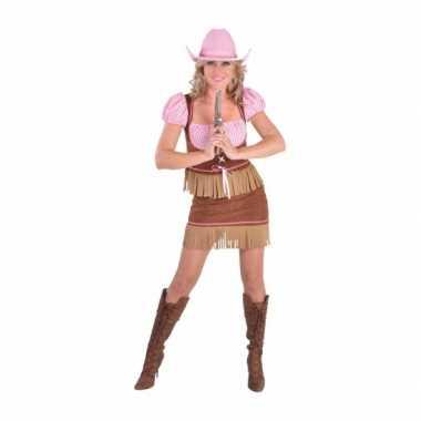 Carnavals carnavalspak cowgirl dames