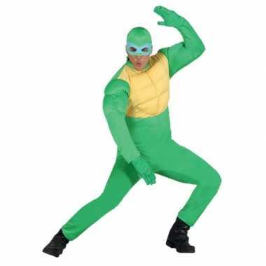 Carnavals carnavalspak ninja voor heren