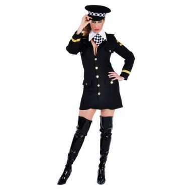 Carnavals carnavalspak politie agente jurkje