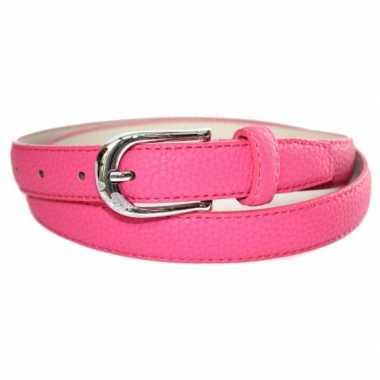 Carnavals riem roze 105 cm