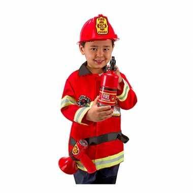 Carnavalspak brandweer voor kids