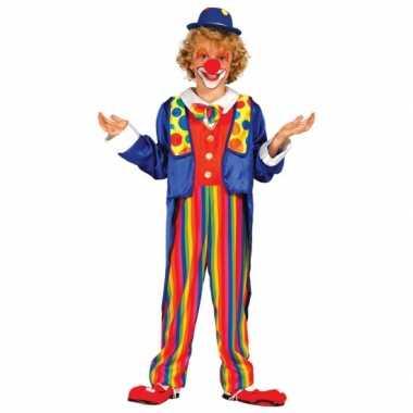 Carnavalspak clown carnavalspak voor kinderen