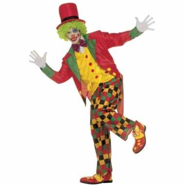 Carnavalspak clown volwassenen