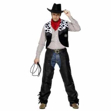 Carnavalspak cowboy heren