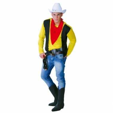 Carnavalspak cowboy voor mannen