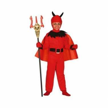 Carnavalspak duivel voor kinderen