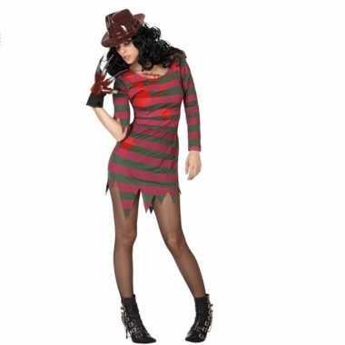 Carnavalspak freddy jurk voor vrouwen