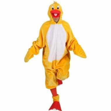 Carnavalspak gele vogels carnavalspak