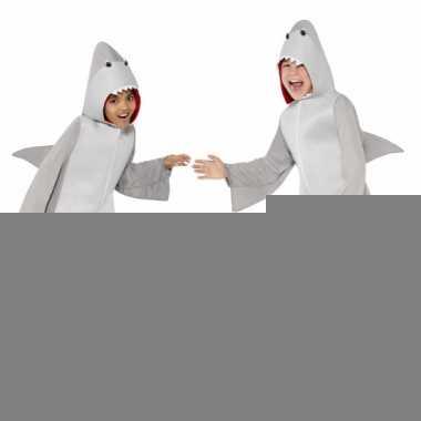 Carnavalspak haai all-in-one voor kinderen