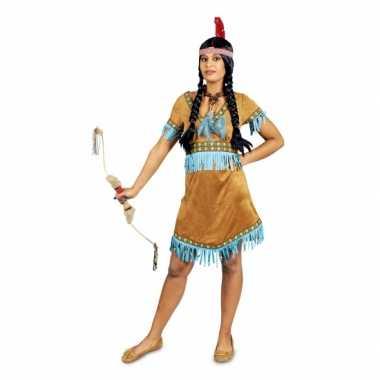 Carnavalspak indiaan voor dames