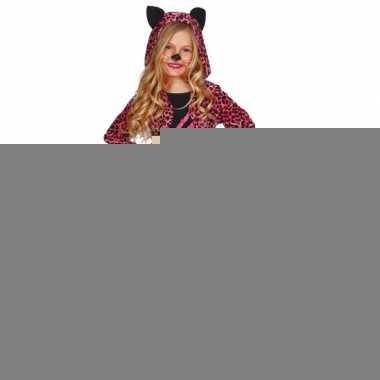 Carnavalspak katten jurkje kids