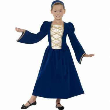 Carnavalspak middeleeuws prinses jurkje