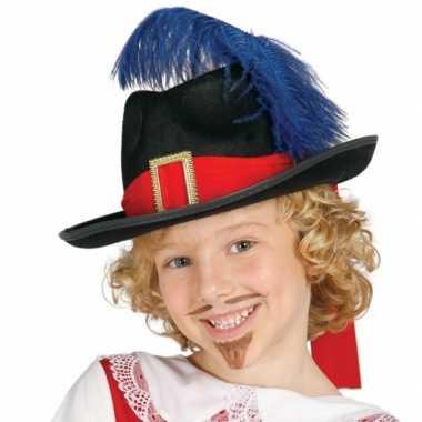 Carnavalspak musketier accessoire kind