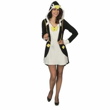 Carnavalspak pinguin voor dames