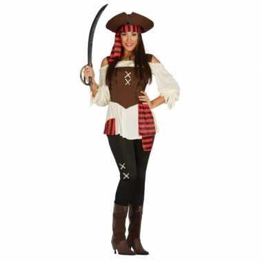 Carnavalspak piraat dame