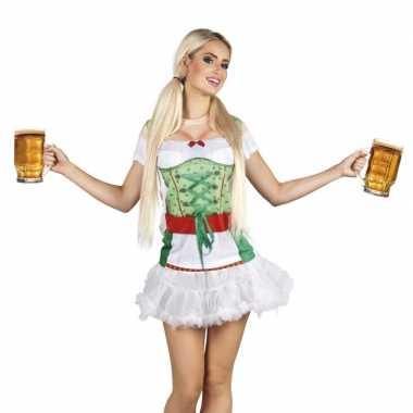 Carnavalspak tiroler dames shirt