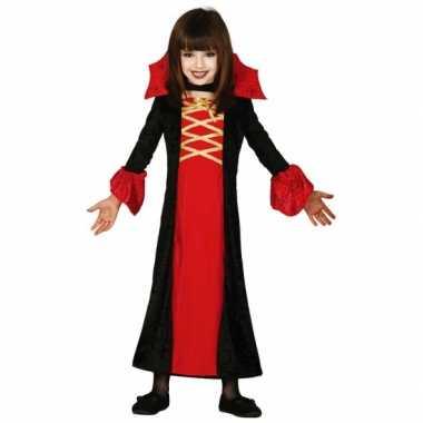Carnavalspak vampieren jurk meisjes