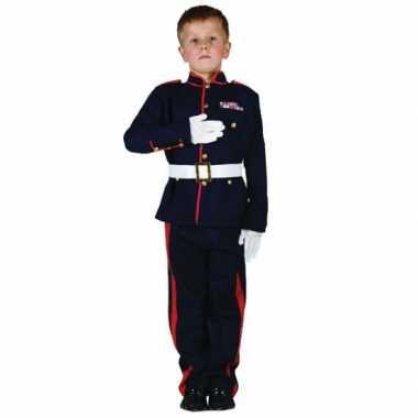 Ceremonieel soldaten carnavalspak voor jongens