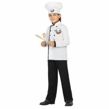 Chef kok verkleed carnavalspak voor jongens